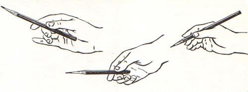 Работа карандашом